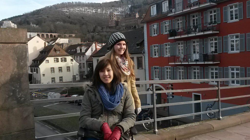Old town Heidelberg Planespoken