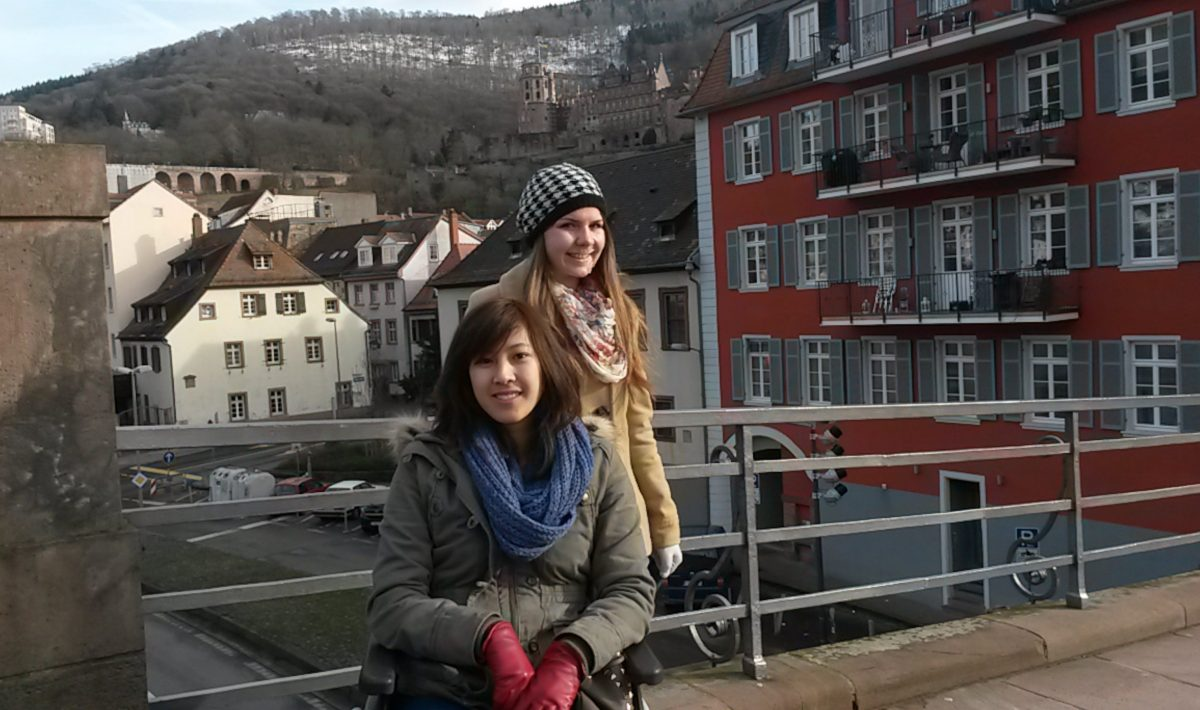 Altstadt Heidelberg PlaneSpoken