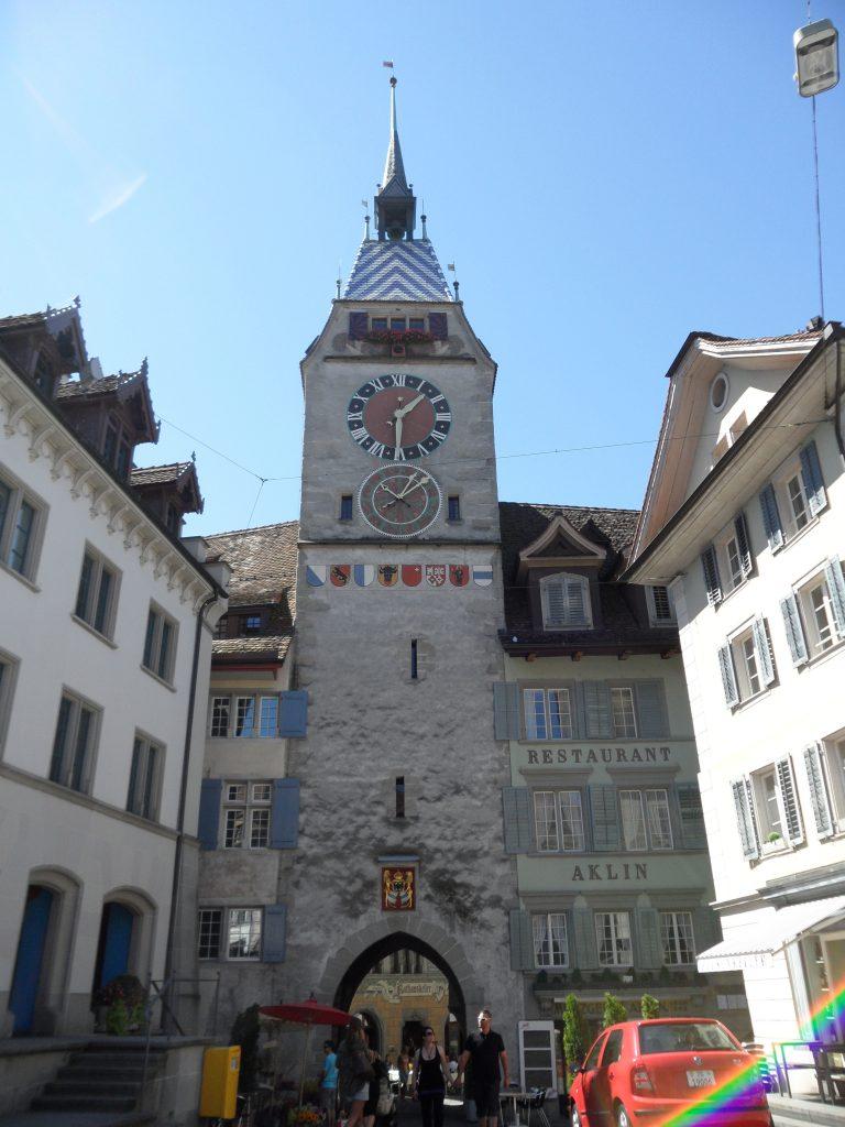 Zytturm Zug Schweiz PlaneSpoken